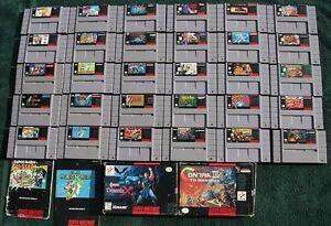 Looking for old SNES Games! (Super Nintendo)