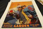 Hockey New York Rangers 1958 Vintage Sports Publications