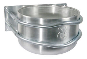 Kerbl 32495 Aluminium Silber Futtertrog, 18L günstig kaufen