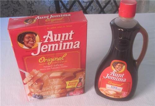 Aunt Jem IMA Original Pancake Mix & Lite  Syrup Retired