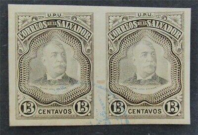 nystamps El Salvador Stamp Used Proof   L16y1034