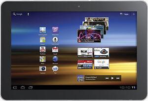 Samsung Galaxy Tab GT-P7510 16GB, Wi-Fi, 10.1in - Metallic Gray