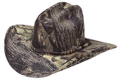Mossy Oak Camo ~COWBOY HAT~ Western Camouflage-Hunting-Ted ](Camo Straw Cowboy Hat)