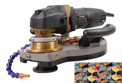 Ecoedge Granite Stone Concrete Wet Polisher Included Grinder 8 Pad Bullnose