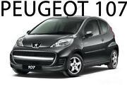 Radkappen Peugeot 107