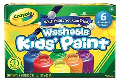 Crayola Washable Kid's Paint (6 count) Fast Shipment Hot Sale