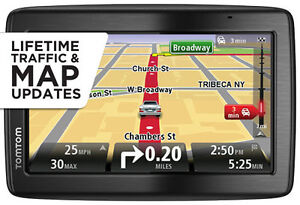 NEW TomTom VIA 1535TM 5-Inch Bluetooth GPS Navigator w/ Lifetime Maps & Traffic