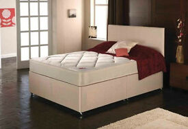 EXCLUSIVE SALE! Free Delivery! Brand New Looking! King Size (Single + Double) Bed & EcoPlus Mattress