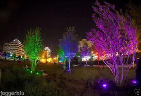 PHILIPS COLOR KINETICES ANOLIS ARCSOURCE INGROUND 6 G 25 DEGREE MULTI LED LIGHT.