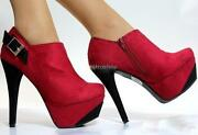 Womens Red Court Shoes