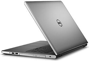 DELL INSPIRON 17 Intel Core i7-6500U Silver Touchscreen Laptop