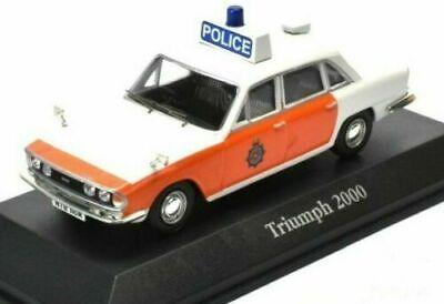 ATLAS BEST OF BRITISH POLICE CARS 1/43 DIECAST TRIUMPH 2000 LANCASHIRE (Best 1 43 Diecast Cars)