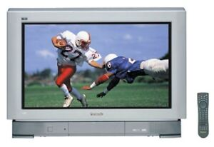 "Panasonic HD CRT 30"" wide screen tv"