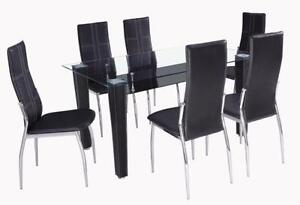 White Dining Table And 6 Chairs