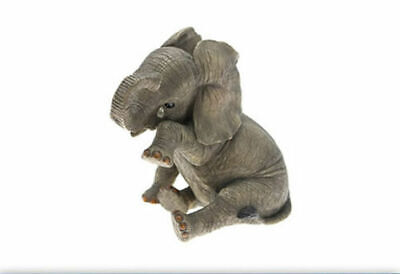 Grey Elephant Decorative Ornament with Teardrop Brand new and -