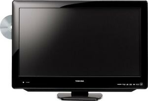 Toshiba TV 26 inches with DVD and wall mount