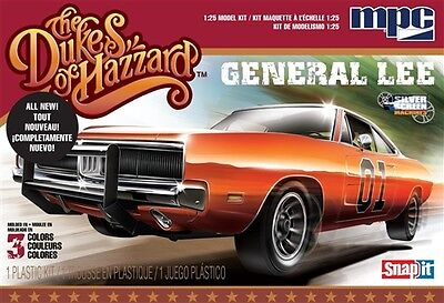MPC Dukes of Hazzard General Lee 1969 Dodge Charger 1/25 model car kit new 817