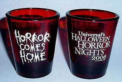 UNIVERSAL HALLOWEEN HORROR NIGHTS #16 2006 Blood Red SHOT - Halloween Horror Nights 16