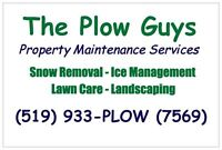 Hiring - Plow Truck Driver Position