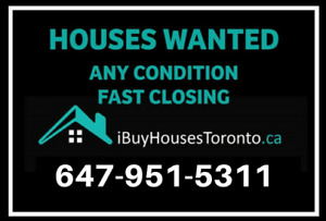 Homes That Need Repair or Upgrades! Fast Closing!