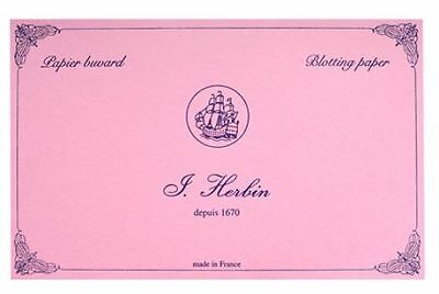 J. Herbin Accessories Pink Blotter Sheets 10 Pack Ink Blotting Accessory - H2...