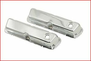 Mr. Gasket - Chrome-Plated Steel Valve Covers Ford
