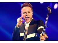 Olly Murs Tickets x8 GOOD SEATS @ COST PRICE Blk B3 Sat 1st April London o2 Arena £65 EACH