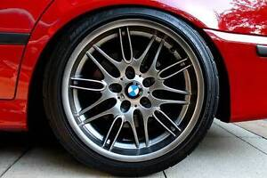 "BMW E39 5-Series 18"" M5 Style 65 Rims Wheels Cobram Moira Area Preview"