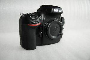 Nikon D800 Body (Very Low Shutter count)