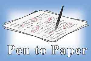Pen to Paper Professional Proofreading and Editing Services Edmonton Edmonton Area image 1