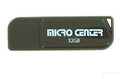 Micro Center Portable Flash  Thumb Drives  Select From 4 Sizes