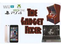 The Gadget Fixer! We repair your gadgets! Call us to get a quote!