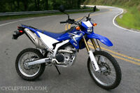 Speciale fin de saison.  End of season low price Yamaha WR250R
