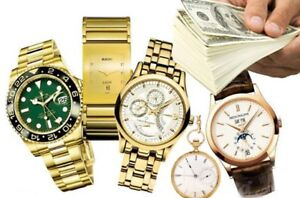 $$$$__ACHETONS MONTRE DE LUXE__WE BUY WATCHES, CASH $$$