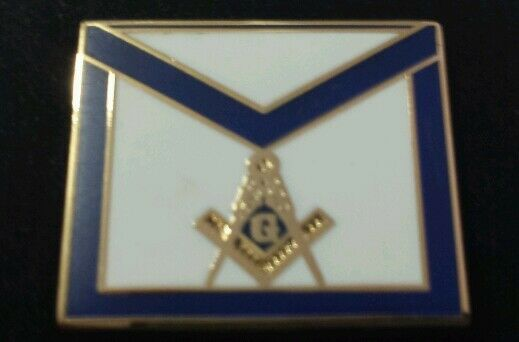 Freemason Apron Lapel Pin