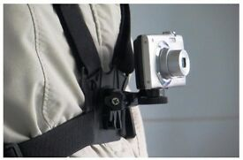 Universal Chest/Body Strap Harness Mount Holder for Digital Cameras