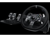 Xbox One Logitech G920 Driving Force Racing Wheel & Pedals RRP £329.99