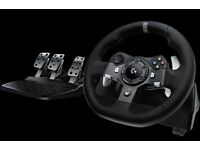 LOGITECH G920 XBOX ONE STEERING WHEEL