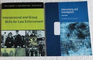 Police Foundations/Justice Studies Textbooks