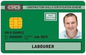CSCS GREEN CARD & LABORER CARD TRAINING COURSES (EXAM EVERYDAY) (ONLINE COURSE AVAILABLE)