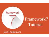 Our Framework7 Tutorial is designed for beginners and professionals - JavaTpoint