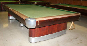 Snooker tables from $3500.00 and up