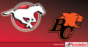 2 Stampeders Tickets for Saturday, August 4, 2018(WITH PARKING P