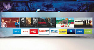 BRAND new Samsung 55/65 inches CURVED 4K SUHD smart tv #: KS8500
