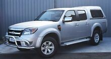 2011 Ford Ranger PK XLT Crew Cab Silver 5 Speed Automatic Utility Invermay Launceston Area Preview