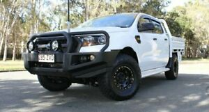 2015 Ford Ranger PX MkII XL White & Black 6 Speed Sports Automatic Cab Chassis Southport Gold Coast City Preview