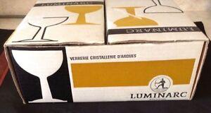 VTG 12 COUPES VERRERIES CRISTALLERIE D'ARQUE, LUMINARC ´FRANCE Gatineau Ottawa / Gatineau Area image 2