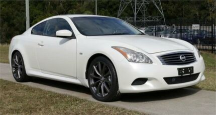 2008 Nissan Skyline CPV36 370GT Type SP White 5 Speed Automatic Coupe Slacks Creek Logan Area Preview