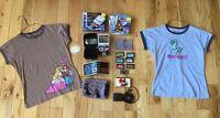 Super Mario Collector Items, including Nintendo Gameboy NES