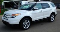 2013 Ford Explorer Limited c/w Ford Maintenance Protection Plan